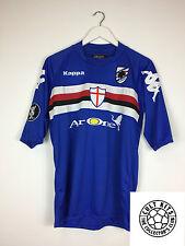 Sampdoria PALOMBO #17 08/09 UEFA Cup Football Shirt (M) Soccer Jersey Kappa