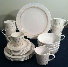 "CENTURA ""APRIL TULIPS"" by CORNING Dinner Set CORRELLE 25 Pieces"