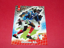 IBRAHIM BA IBOU EQUIPE FRANCE 98 BLEUS PANINI FOOTBALL CARD 1998