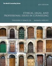Ethical, Legal, and Professional Issues in Counseling (4th ed) Remley & Herlihy