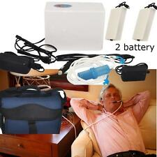 Car/ Home/Travel Portable Oxygen Concentrator Generator + Good Bag + 2 battery