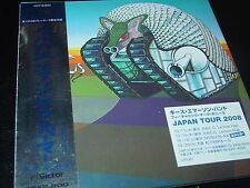 Emerson Lake & Palmer ELP Japan Mini SHM LP  CD Tarkus  NEW SEALED