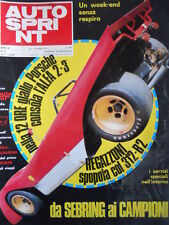 Autosprint n°12 1971 Lotus 72 Graham Hill - Regazzoni 312-B2  [P47]
