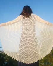 CIRCLE OF LIFE LACE SHAWL by EUGEN BEUGLER of FIBER TRENDS