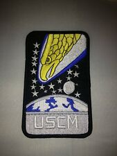 Aliens Movie USCM Screaming Eagle Logo Patch