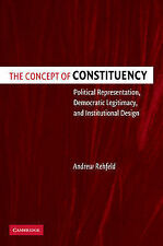 The Concept of Constituency: Political Representation, Democratic Legitimacy, an