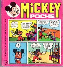 MICKEY POCHE NUMERO 40 année 1977 RARE !!!!