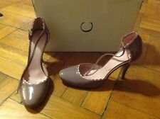 ~~ Casadei Pink Lilac Patent Leather Mary Janes High Heels Size 5.5
