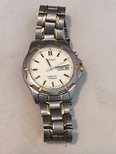 SEIKO KINETIC TITANIUM  LUMIBRITE DIAL 5M63-0B70 MEN'S WATCH