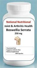 Boswellia Serrata 250 mg supports  joint health /  300 capsules