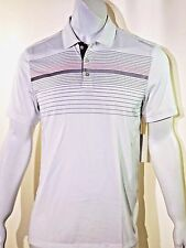 Calvin Klein engineered reflective striped polo size medium  new with tags