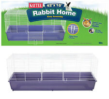 Kaytee My First Home, 42 x 18 x 19.5. Extra Large. Rabbit Cage, Guinea Pig Cage.