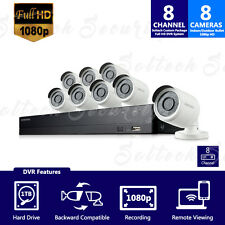 SDH-B74081-1TB - Samsung 8 Channel 1080p HD 1TB Security System with 8 Cameras