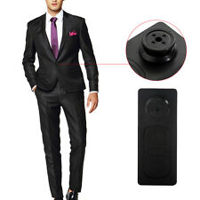 Pulsante MINI FOTOCAMERA SPY Camicia NASCOSTA CAMERA VIDEO DVR VIDEOCAMERA Voice documenti