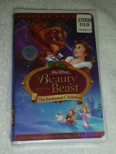 Walt Disney's Beauty and the Best : The Enchanted Christmas VHS - New, Sealed