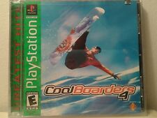 COOL BOARDERS 4 PlayStation 1 PS1 1999 Extreme Sports Game Snow Boarding NEW