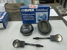 Elvex QuickSnap Cap Mount Ear Muffs #HM-25 (For Slotted Safety Caps) (NIB)