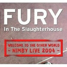 """FURY IN THE SLAUGHTERHOUSE """"WELCOME TO THE..."""" 2 CD NEW+"""