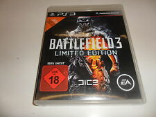 PlayStation 3  PS3  Battlefield 3 - Limited Edition  USK 18