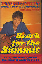 PAT SUMMITT Reach For The Summit ....SIGNED (ULTIMATE PACKAGE of 5 Items)