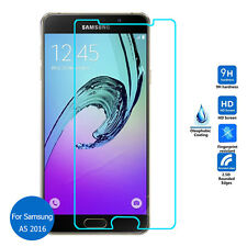 Samsung Galaxy A5 2016 Tempered Glass Screen Protector + FREE Crystal Gel Case