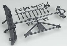 Axial SCX10 Rock Crawler Rear Bumper Tire Carrier SCX10 Poison Spyder JK AX80126