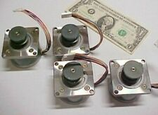 Lot 4 Stepper Motors Lathe, 1.1 Amp DIY CNC Router 103-775-7241 Sanyo Denki NEW