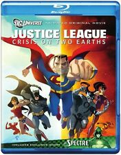 Justice League: Crisis on Two Earths [Sp (2011, REGION A Blu-ray New) BLU-RAY/WS