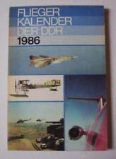Fliegerkalender der DDR 1986 Dr. Peter Bork NVA MI MIG Antonov Flugzeug Flieger