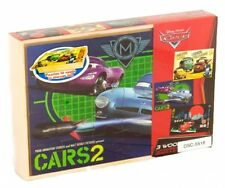 Disney Cars 2 3 In A Box Wooden 24 Piece Jigsaw Puzzle Brand New Gift