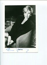 Erica Jong Erotic Fear Of Flying Author Poet Signed Autograph Photo