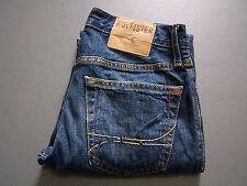 HOLLISTER JEANS W28 L30 CLASSIC STRAIGHT MID BLUE MEN'S REG FIT VINTAGE LEVX126