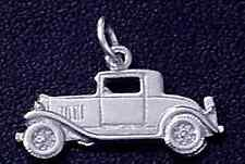 LOOK Ford model A Car Pendant Sterling Silver .925 Charm