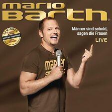 """MARIO BARTH """"MÄNNER SIND SCHULD,SAGEN DIE FRAUEN""""  CD NEU"""