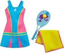 Barbie Tennis Dress Tennis Racket Ball Towel Accessories Lot Brand NEW Package