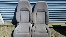MOUNTAINEER FORD EXPLORER FRONT SET GRAY CLOTH POWER WOW