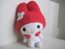 "Sanrio Fiesta MY MELODY 15.5"" Bunny Plush Stuffed Red White Hello Kitty Friend"