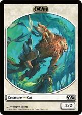 1x Cat Token Emblem  MTG M13 Core Set MINT PACK FRESH UNPLAYED 2013