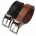 Fashion Men's Luxury Leather  Vintage Classic Pin WaistBand Strap Waist Belts