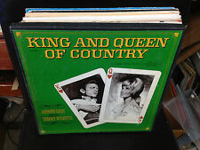 Johnny Cash/Tammy Wynette King and Queen of Country vinyl 4x LP BOX Set 1969