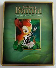 Disney Bambi Blu-Ray Viva Metal Case like Steelbook - Open