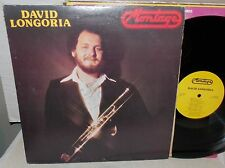 1980 DAVID LONGORIA MONTAGE PRIVATE TRUMPET JAZZ SIGNED LP HOLLYWOOD STAR NM