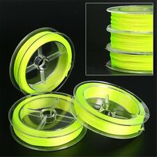 1 Spool Of 20 lb 100 Yards Yellow Fly Fishing Backing Line