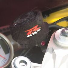 Large Black Brake & Clutch Reservoir Sock Cover Motorcycle Dirt Bike Oil GSXR