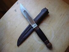 Vintage Marbles M.S.A. Co Gladstone,Mich. knife with sheath