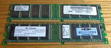 DDR Ram 256MB Stick x 2 (Total 512MB)