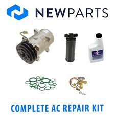 VW Cabriolet 1985-1993 Complete AC A/C Repair Kit with New Compressor & Clutch