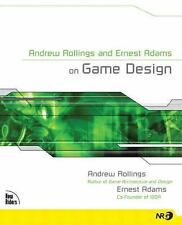 Andrew Rollings and Ernest Adams on Game Design (New Riders Games)-ExLibrary