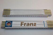 nombre de la regla FRANZ Lasergravur 2 Metros Calidad De Artesano