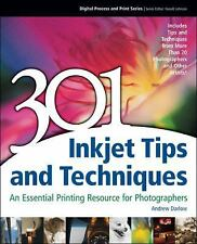 301 Inkjet Tips and Techniques: An Essential Printing Resource for Pho-ExLibrary
